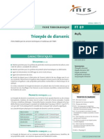 AA001_fiche Toxicologique Arsenic