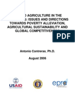 Upland Agriculture in the Philippines Issues and Directions Towards Poverty Alleviation, Agricult