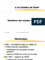 AA002 CLI Mars 2006 Synthese Etudes Sanitaires