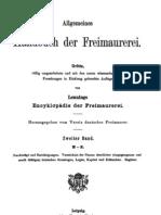 Allgemeines Handbuch Der Freimaurerei, 1901 (Ungarn)