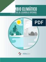 CAMBIO CLIMATICO Y OBJETIVO DEL DESARROLLO SOSTENIBLE
