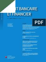 Rev. Droit bancaire et financier