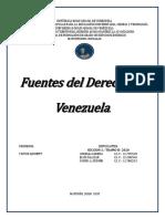 FUENTE DEL DERECHO VENEZOLANO