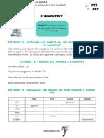 Fiche Conjugaison CE1-CE2 - Passé Composé