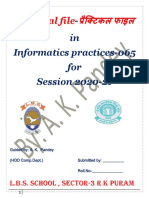 Complete Practical File of class XII-IP 2020-21