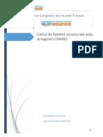 reflexion strategique_Calcul de fiabilité structurale avec le logiciel COMREL