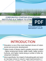 Educational Institutions by Corp Orates
