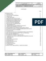 Plan de conformacion de brigadas de emergencias y prim. aux. AAC