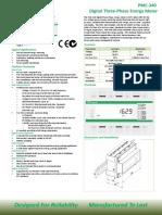 CET Datasheet