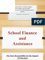 Theoretical Bases of School Support