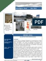 Boletim climatológico anual 2010 - IM