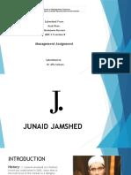Junaid Jamshed 1.Pptx