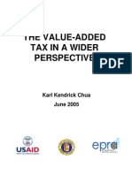 The Value Added Tax in a Wider Perspective