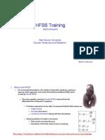 מצגת 3 HFSS