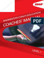 Bwf Coach Education Coaches Manual l1-2nd-Edition-midres