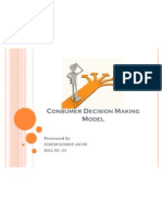 Consumer Decision Making Model
