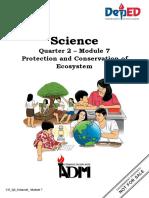 Science6_Q2_Mod7_ProtectionandConservationofEcosystem_V4