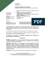Continuación Audiencia de trámite y juzgamiento Art. 80 CPL