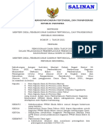 Intruksi Menteri Desa, PDTT untuk Kepala Desa NOMOR 1 TAHUN 2021 7 feb2021 update (Salinan Biro Hukum)