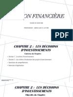 Gestion financière - Chapitre 2