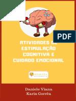 Atividade de Estimulação Cognitiva e Cuidado Emocional - por Daniele Viana