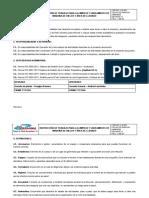 04 INSTRUCCIÓN DE TRABAJO PARA LA LIMPIEZA Y SANEAMIENTO DE LLENADO