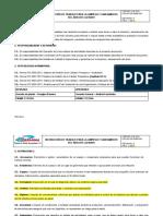 04 INSTRUCCIÓN DE TRABAJO PARA LA LIMPIEZA Y SANEAMIENTO DE MAQUINA DE HIELO