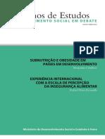 caderno - 02 subnutrição e obsidade em paises em desenvolvimento