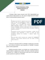 Pratica processual penal - exercicio 04 (parecer)
