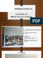 Méthodologie Economie1