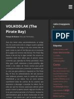 VOLKODLAK (The Pirate Bay) – Creepypastas