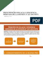 ppt PRINCIPIO DE EFICACIA Y EFICIENCIA