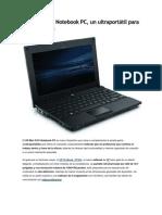 HP Mini 5101 Notebook PC