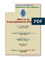 La Masoneria Primitiva - Copia