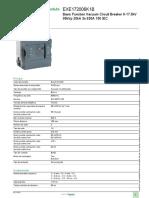Disjuntores EasyPact EXE_EXE172006K1B