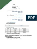 Informações de Financiamentos