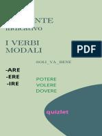 PRESTNTE indicativo I VERBI MODALI (2)