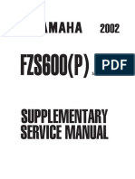 FZS600(P) 2002 Fazer Supplementary_Service_Manual