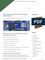 Guia completo do Shield Multi-funções para Arduino - Blog Eletrogate