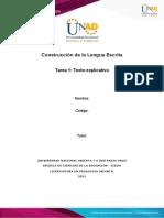 Formato Tarea 1- Texto explicativo