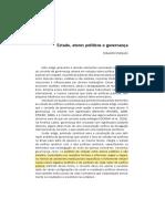 MARQUES, EDUARDO. Estado, Atores Políticos e Governança