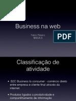 Comparação de casos de sucesso e fracasso na Web