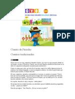 cuentos infantiles pinocho dv