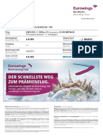 Eurowings Boardingpass ODGTFJ Cocirta Darius-Alexandru TSRSTR 2