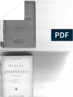 A. Boulenger - Manual de Apologetica