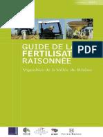 La fertilisation raisonnée de la Vigne