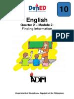 English10 q2 Mod6 Findinginformation Version3