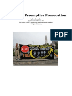 Victims of Preemptive Prosecution