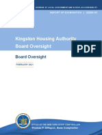 Kingston Housing Authority board audit