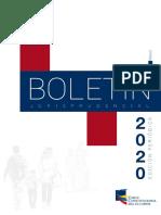 JANDRY MUÑOZ FLORES - Boletin Febrero 2020 - CORTE CONSTITUCIONAL